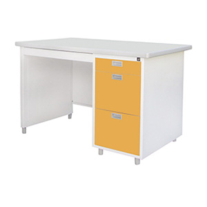 โต๊ะทำงานเหล็ก ยี่ห้อ Luckyworld รุ่น DL-40-3