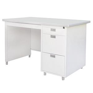 โต๊ะทำงานเหล็ก ยี่ห้อ Luckyworld รุ่น DX-40-3