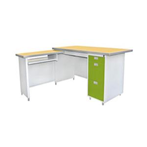 โต๊ะทำงานเหล็ก ยี่ห้อ Luckyworld รุ่น DP-52-3ADK