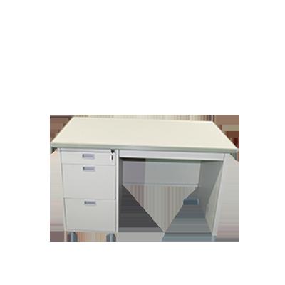 โต๊ะทำงานเหล็ก(สีครีมเมทัลลิค) ยี่ห้อ Luckyworld รุ่น DX-40-3